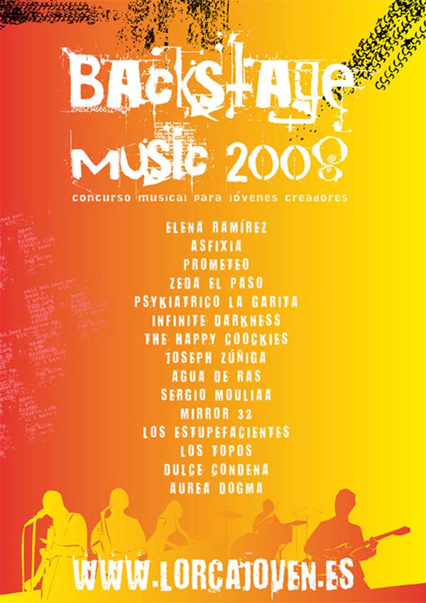 Cartel Backstage Music 2008