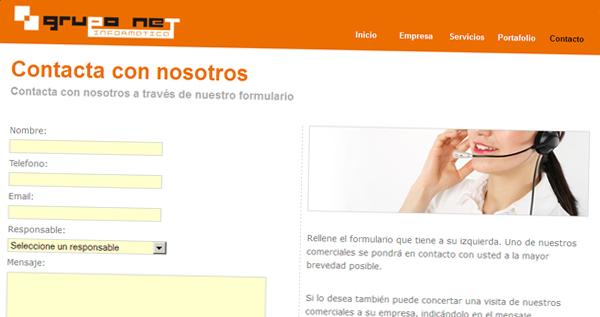 gruponet.org - Contacto