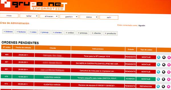 gruponet.org - Área de Gestión