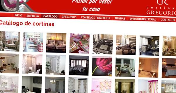 cortinasgregorio.es - Catálogo