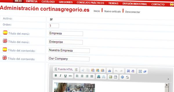 cortinasgregorio.es - Área de Administración