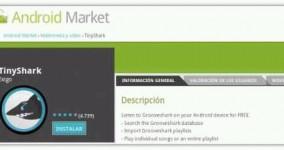 Con TinyShark escucha música de Grooveshark desde tu Android