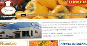 Diseño web supermercadoguirrete.com