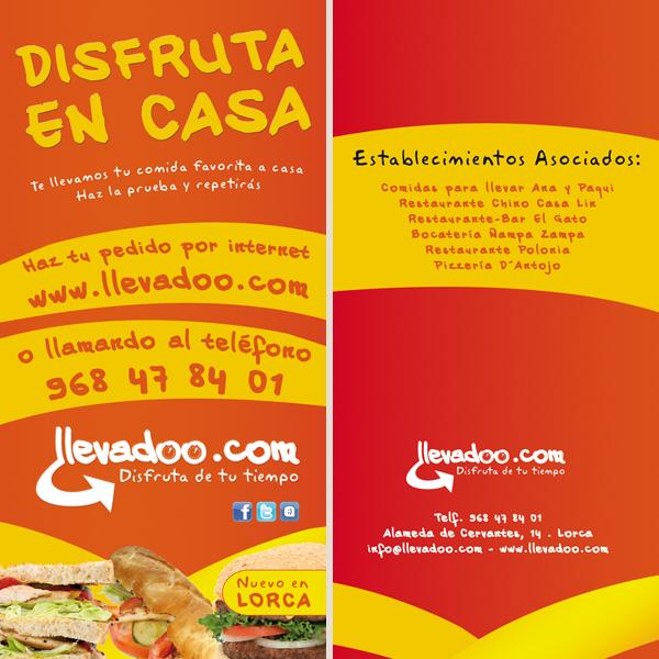 Flyer llevadoo.com