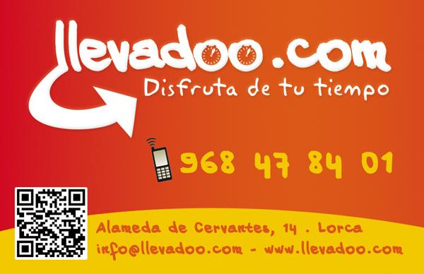 Tarjeta de Visita llevadoo.com