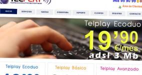 Diseño web Telplay Telecomunicaciones