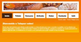 Diseño web tienda on-line Telepan Murcia
