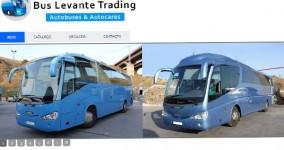 Diseño web Bus Levante Trading