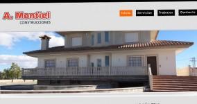 Diseño web Construcciones A. Montiel