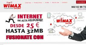 Nuevo diseño web Wimax On Line